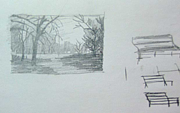 Draw Park Bench: Demo
